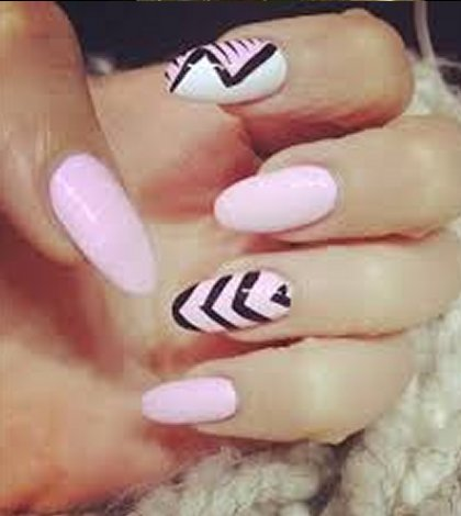 Soft Angel Nails Simple Nail Designs For Round Nails Finesse Corner