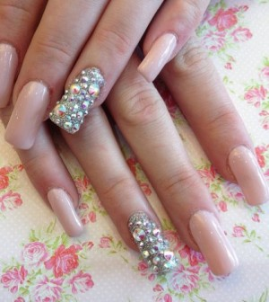 There Are Lot S Of Crystals Available To Design Your Nails But Often Seen As The Best You Can Get Swarovski Second None