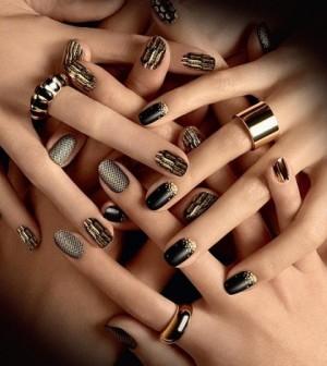 Latest nail art design trends in 2013 finesse corner if you have naturally long nails or acrylics chances are youve been tempted to get some pretty trendy designs at one point or another prinsesfo Images