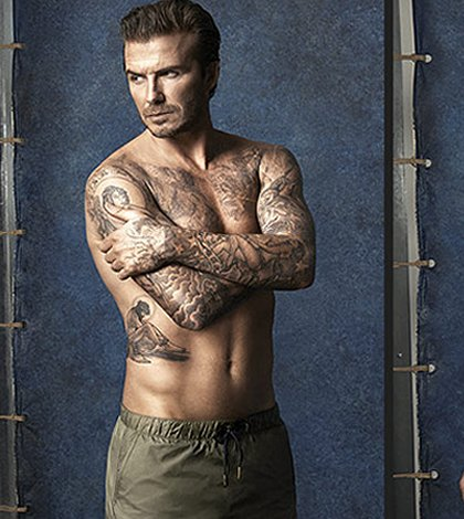 4cd6a8a5df David Beckham Launches Swimwear Line for H&M (aka an Excuse to Look at David  Beckham in Tiny Pants)